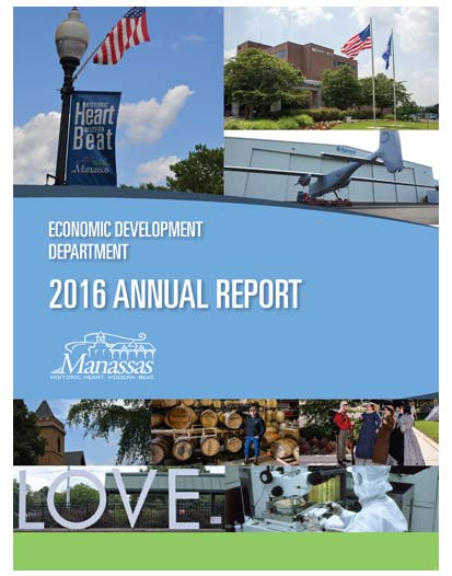 choose-manassas-data-and-demographics-reports-resources-cover-2016-Annual-Report-City-of-Manassas Reports & Resources